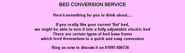 Bed Conversion Service