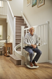 Acorn Curved Stairlift